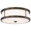 This item: Drum Bronze and Gold 16-Inch LED Flush Mount