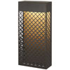 This item: Guild Matte Gold 14-Inch LED Outdoor Wall Sconce
