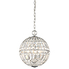 This item: Palermo Chrome 12-Inch Four-Light Pendant