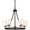 This item: Studio 5 Painted Bronze 26-Inch Five-Light Chandelier