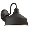 This item: Mantiel Black 10-Inch One-Light Outdoor Wall Mount