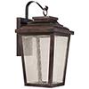 This item: Irvington Manor LED Chelesa Bronze 11-Inch LED Outdoor Wall Mount