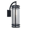 This item: New Yorker Acid Dipped Black One-Light Outdoor Wall Mount