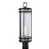 This item: New Yorker Acid Dipped Black One-Light Outdoor Post Mount