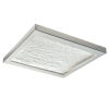 This item: For-Square Brushed Nickel 12-Inch LED Flush Mount