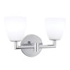This item: Chancellor Chrome 11-Inch LED Wall Sconce