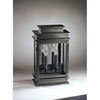 This item: Empire Dark Brass Nine-Inch Two-Light Outdoor Wall Mount with Clear Seedy Glass Plain Mirror