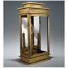 This item: Empire Antique Brass Nine-Inch Two-Light Outdoor Wall Mount