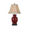 This item: Oxblood Vase Lamp