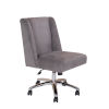 This item: Boss 25-Inch Gray Decorative Task Chair