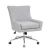 This item: Boss 26-Inch Grey Accent Chair