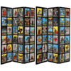 This item: 6-Foot Tall Double Sided Rider-Waite Tarot Canvas Room Divider