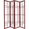 This item: Eudes Shoji Screen - Four Panel Rosewood, Width - 68 Inches