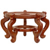 This item: Rosewood Fishbowl Stand - Honey 12.5 Inch