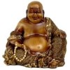 This item: Brown 6-Inch High Sitting Laughing Buddha Statue