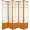 This item: Zen Shoji Screen Honey Five Panel, Width - 85 Inches