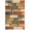 This item: Kendall Multicolor Rectangular: 7 Ft. 10 In. x 10 Ft. 10 In. Rug