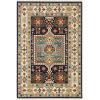This item: Lilihan Blue Ivory Rectangular: 5 Ft. 3 In. x 7 Ft. 6 In. Rug