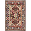 This item: Lilihan Red Blue Rectangular: 6 Ft. 7 In. x 9 Ft. 6 In. Rug