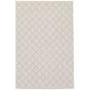 This item: Portofino Ivory Gray Rectangular: 5 Ft. 3 In. x 7 Ft. 3 In. Rug