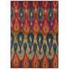 This item: Kaleidoscope Red Rectangular: 5 Ft. 3 In. x 7 Ft. 6 In. Rug