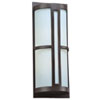 This item: Rox Oil Rubbed Bronze 9-Inch LED Outdoor Wall Lantern