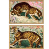 This item: Concrete Jungle Cats Multicolor Framed Art, Set of Two