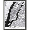 This item: Monochrome New York Black Framed Art