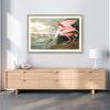 This item: Roseate Spoonbill Multicolor Framed Art