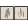 This item: Libby Langdon Modern Ferns II Neutral Framed Wall Art, Set of 2