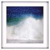 This item: Libby Langdon Splash Blue Framed Wall Art