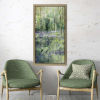 This item: Green Lavender Hill I Framed Art