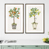 This item: Multicolor 40 H x 26 W-Inch Fruit Topiary Wall Art, Set of 2