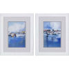 This item: Boats Blue Framed Art, Set of Two