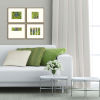 This item: Green Wave Green Framed Art, Set of Four