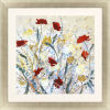 This item: Field of Warmth I Red Framed Art