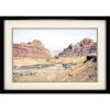 This item: Red Canyon Neutral Framed Art