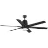 This item: Arlo Black 60-Inch LED Ceiling Fan with White Opal Shade