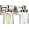 This item: P300046-009: Calhoun Brushed Nickel Two-Light Bath Vanity