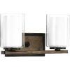 This item: P300216-020 Mast Antique Bronze 14-Inch Two-Light Bath Vanity
