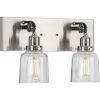 This item: P300227-009 Rushton Brushed Nickel 16-Inch Two-Light Bath Vanity