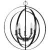 This item: Equinox Black 22-Inch Five-Light Pendant
