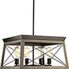 This item: P400047-020: Briarwood Antique Bronze Four-Light Chandelier
