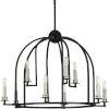 This item: P400187-031 Seneca Black 30-Inch Nine-Light Chandelier