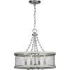 This item: Austelle Galvanized 18-Inch Four-Light Chandelier
