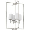 This item: P500206-009 Replay Brushed Nickel 18-Inch Four-Light Pendant