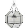 This item: Mauldin Black 17-Inch Three-Light Pendant
