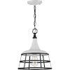 This item: Bastille White 12-Inch One-Light Pendant