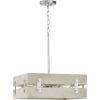 This item: Hemsworth Galvanized 18-Inch Four-Light Pendant