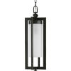 This item: Janssen Oil Rubbed Bronze Eight-Inch One-Light Outdoor Pendant with Etched Shade